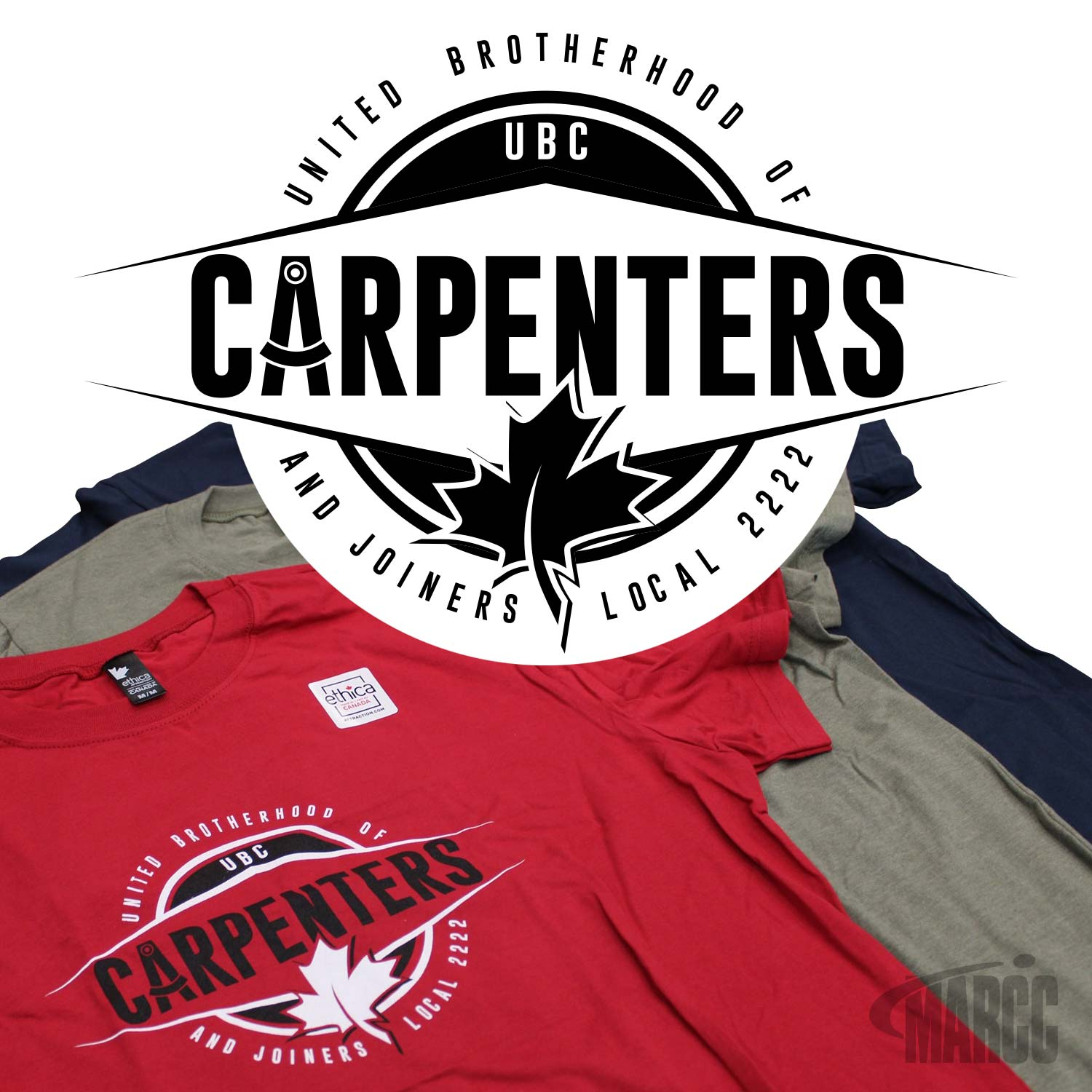 United Brotherhood of Carpenters Tee Design